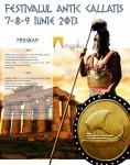Festivalul Antic Callatis, Mangalia 7- 9 iunie 2013